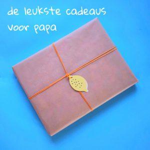 De leukste cadeau tips voor mannen: wat koop je voor papa?