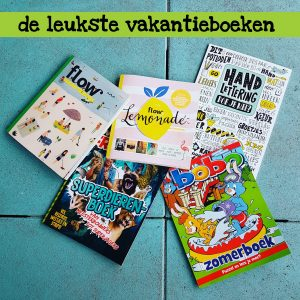 De leukste vakantiedoeboeken voor het hele gezin