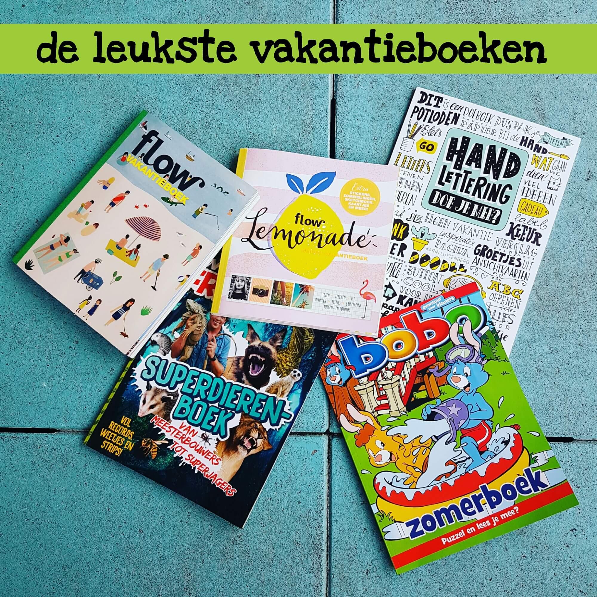 De leukste vakantieboeken voor het hele gezin