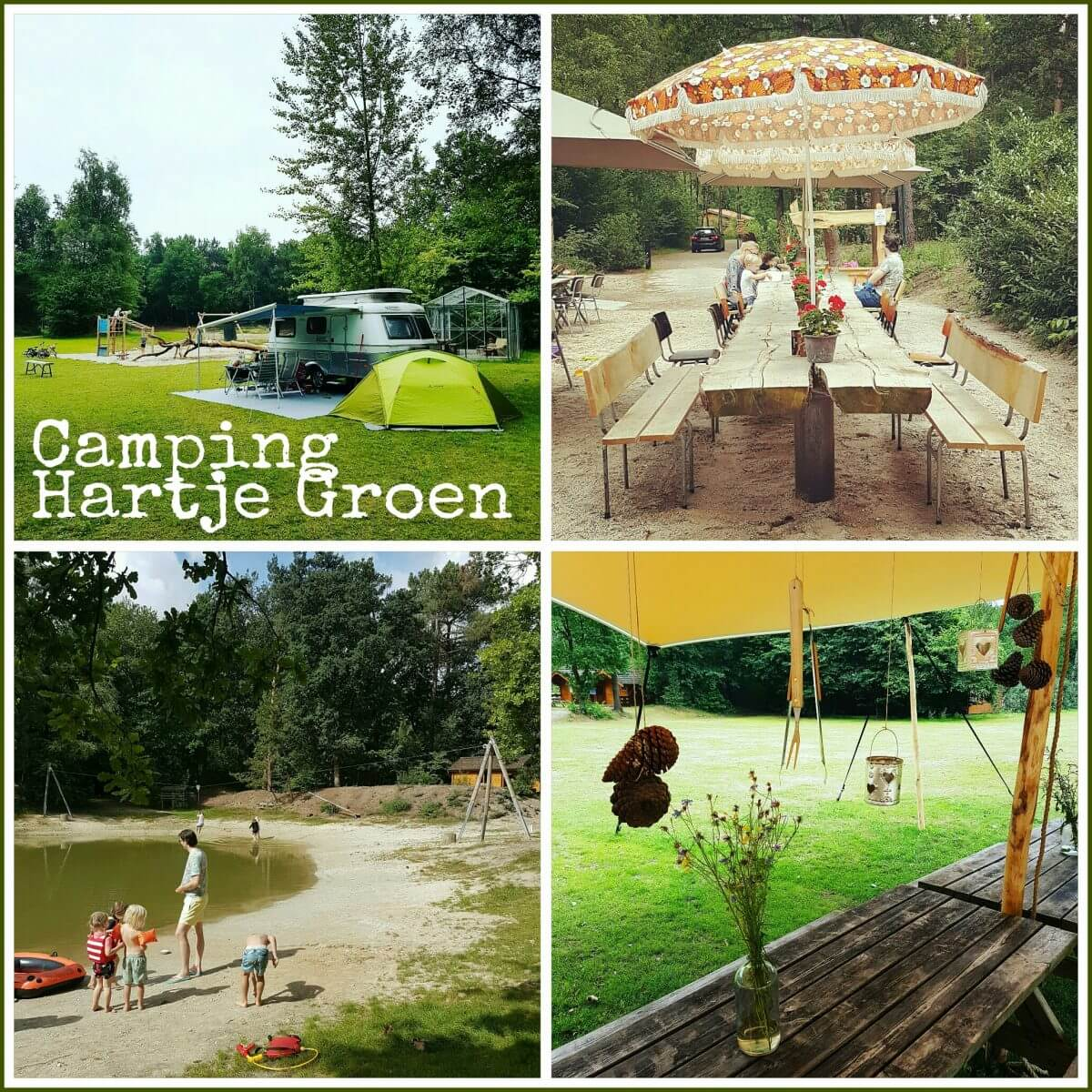 Camping Hartje Groen in Brabant bij Schaik Oss Den Bosch en Nijmegen