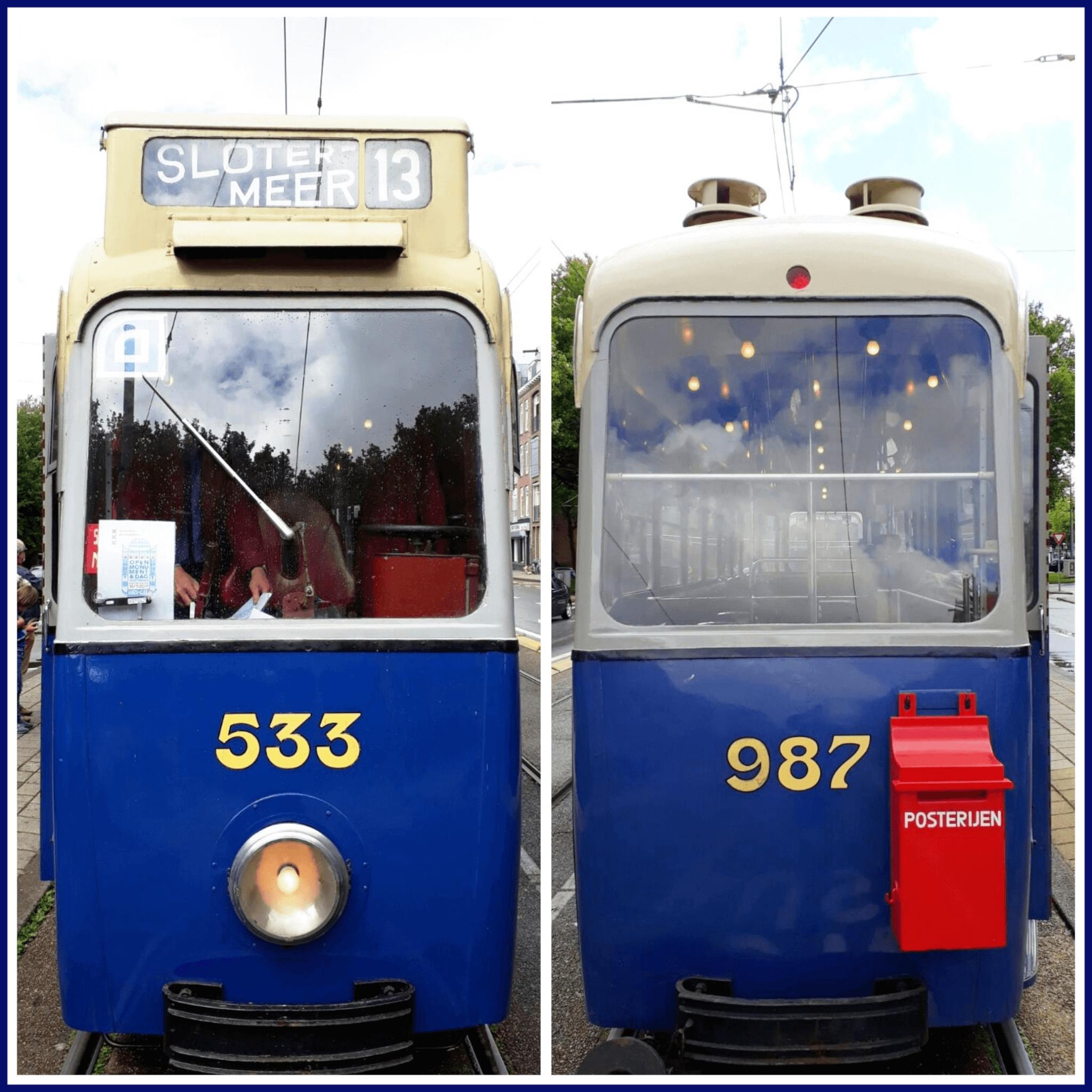 Uitje voor kleine tramfans: Museumtramlijn Amsterdam