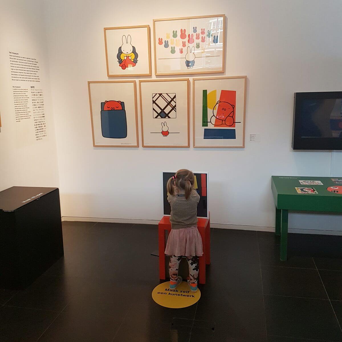 Nijntje museum uitje met peuters en kleuters in Utrecht