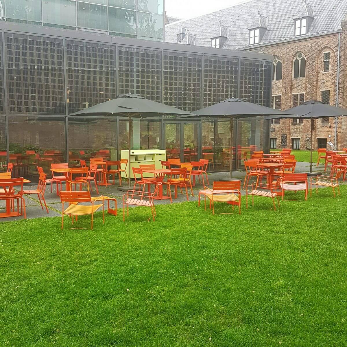 Nijntje museum uitje met peuters en kleuters in Utrecht - cafe centraal