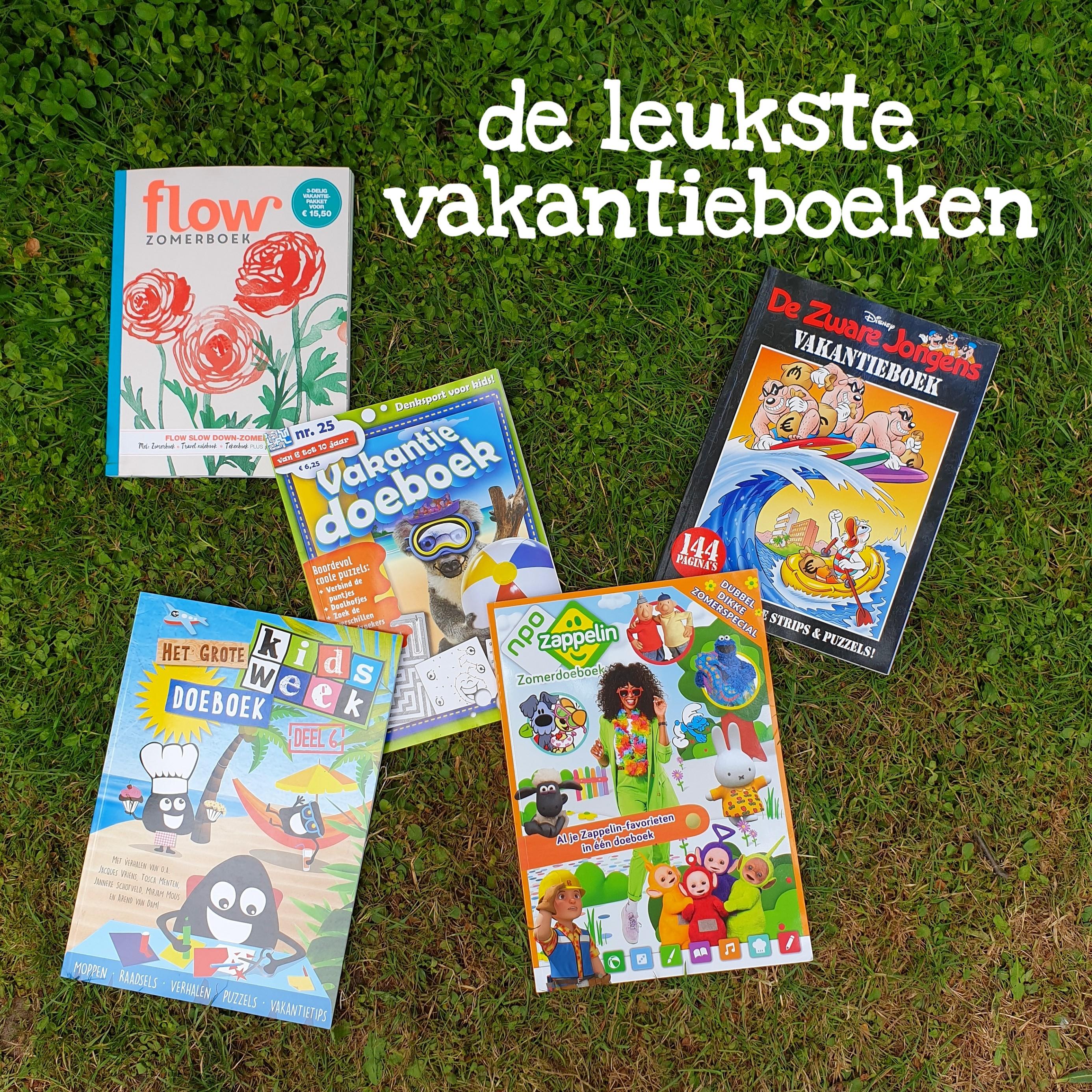 De leukste vakantieboeken en doeboeken voor het hele gezin