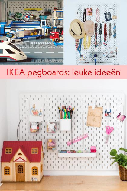 Ikea pegboards: ideeën om de Ikea SKÅDIS te gebruiken
