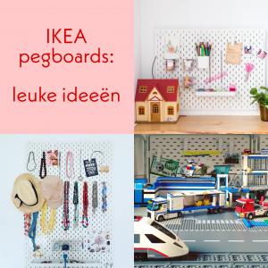 Ikea pegboards: ideeën om ze te gebruiken