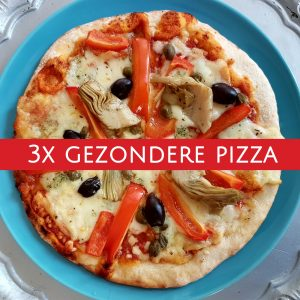 Gezondere pizza: drie opties