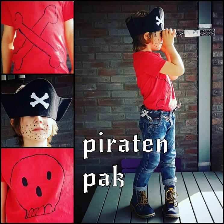Verkleedkleding maken met textielstiften - piratenpak voor in de verkleedkist