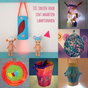 Mooie lantaarn of lampion voor Sint Maarten knutselen: heel veel ideeën