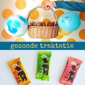 Gezonde traktatie voor school: fruit jojo's