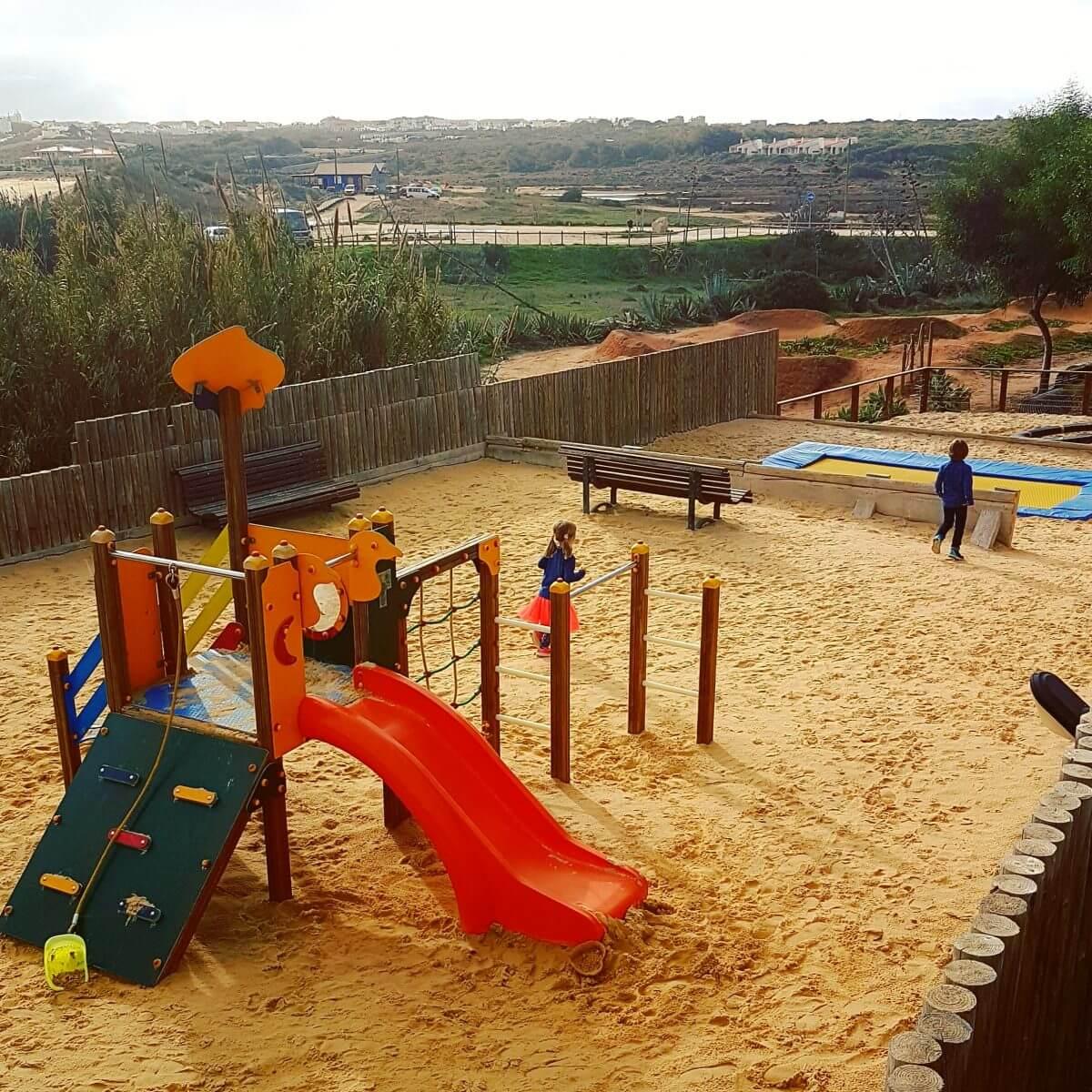 Algarve met kids: idyllisch familieresort Martinhal en met kids naar Sagres As Dunas speeltuin