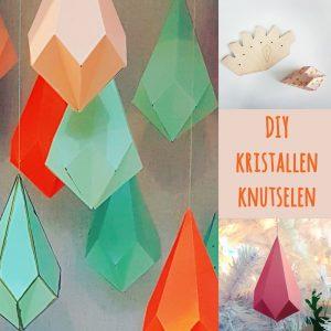 DIY voor kerst: kristallen knutselen