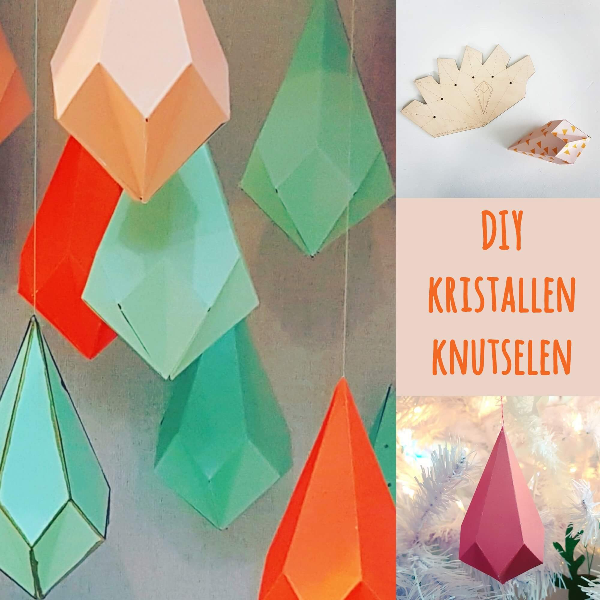 DIY: kristallen knutselen