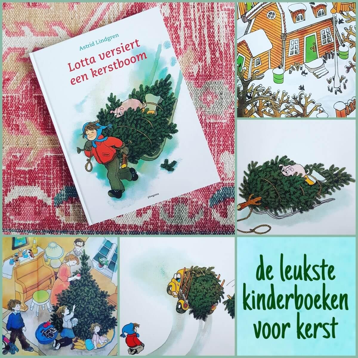 De leukste kinderboeken over kerst - Astrid Lindgren, Lotta versiert een kerstboom