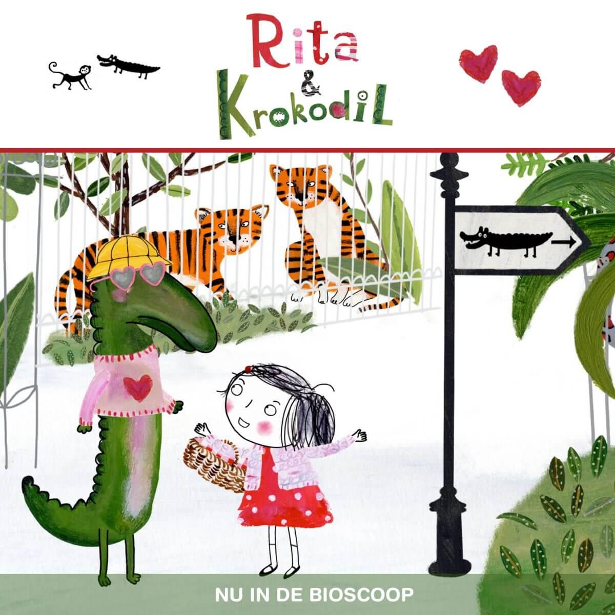 Filmtip voor de kerstvakantie: Rita & Krokodil (2+)