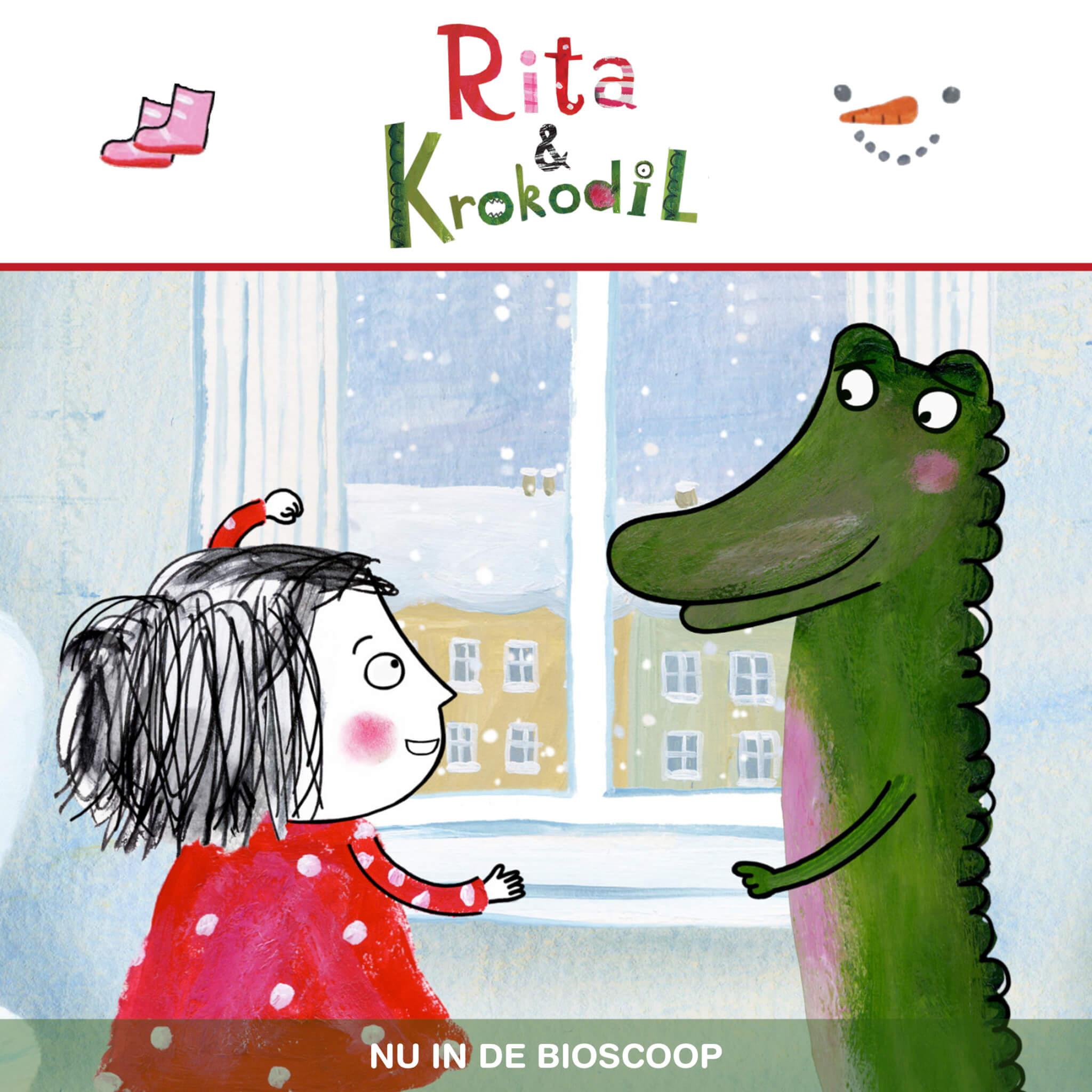 Filmtip voor kerst: Rita & Krokodil (2+)