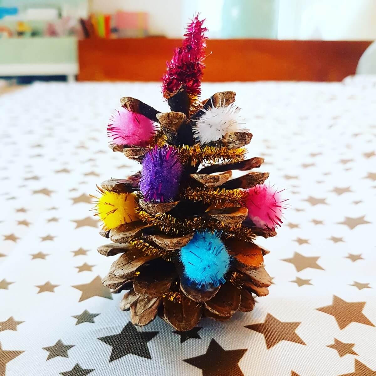 Kerst knutselen: heel veel leuke ideeën - dennenappel