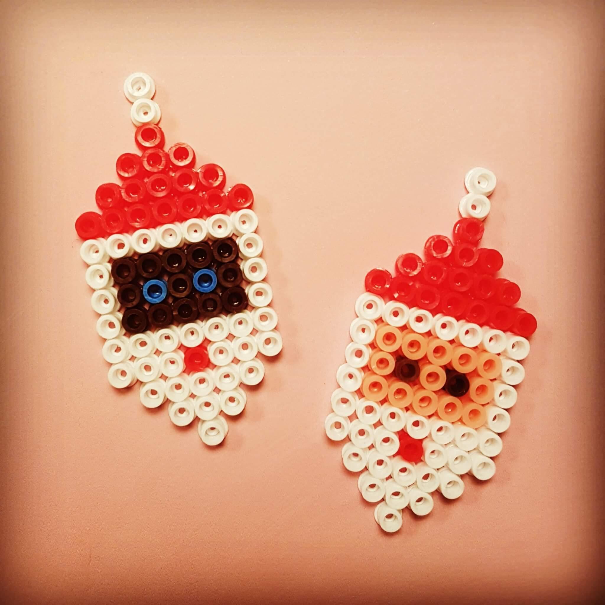 Kerst knutselen: heel veel leuke ideeën - strijkkralen kerstman