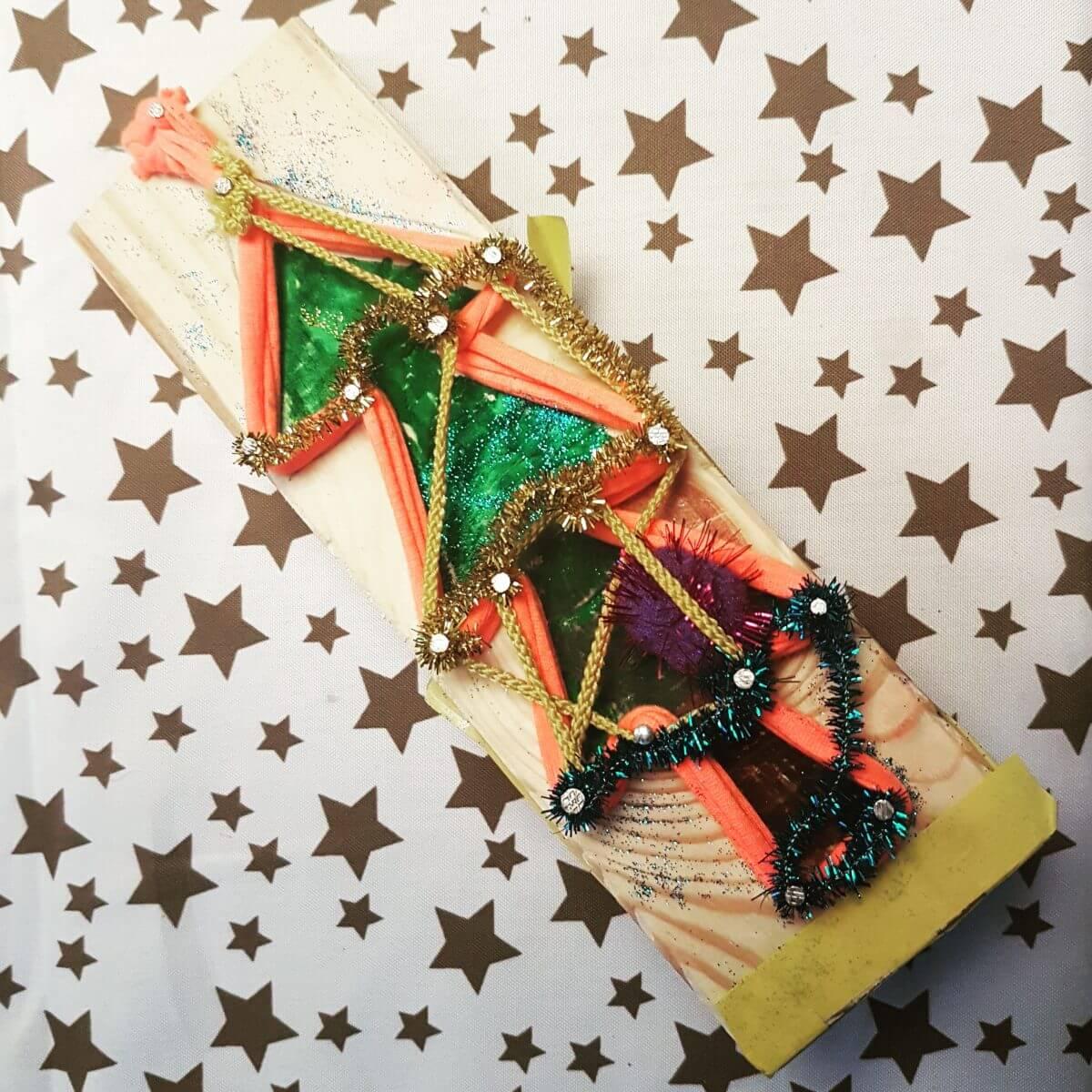 Kerst knutselen: heel veel leuke ideeën - kerstboom timmeren
