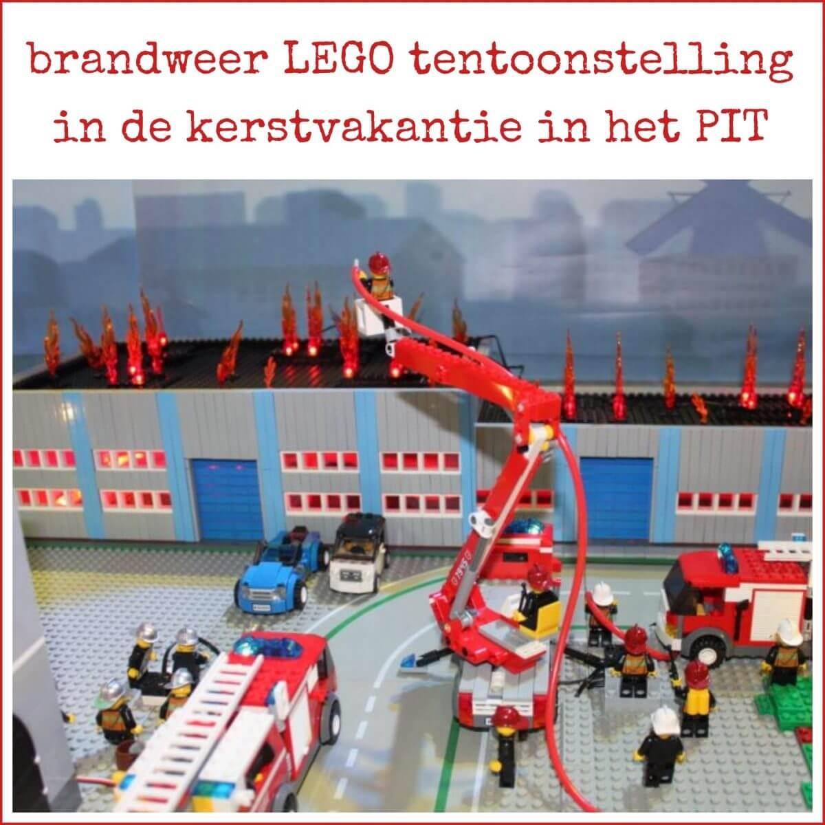 Kerstvakantie uitje: Brandweer LEGO in het PIT + winactie