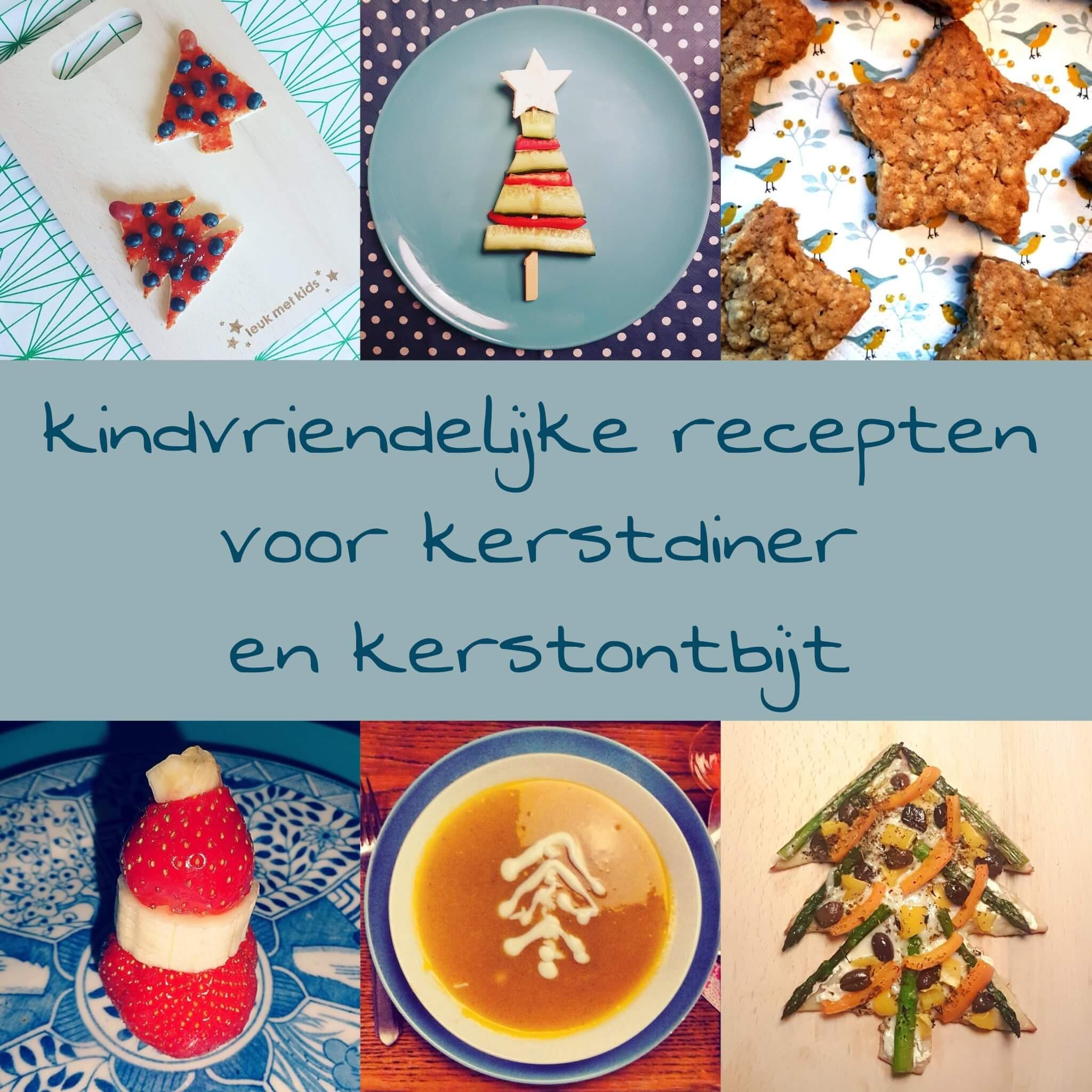 De leukste kindvriendelijke recepten voor kerstdiner en kerstontbijt - op school en thuis