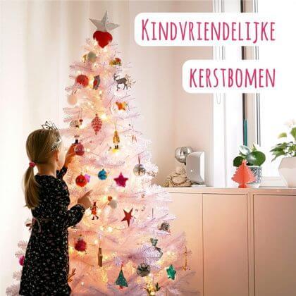 De leukste kindvriendelijke kerstbomen voor baby, peuter en kleuter