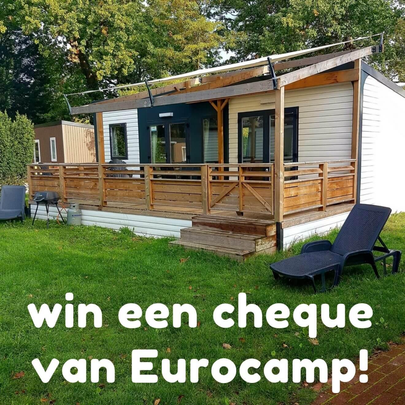 Win een Eurocamp reischeque ter waarde van 200 euro!