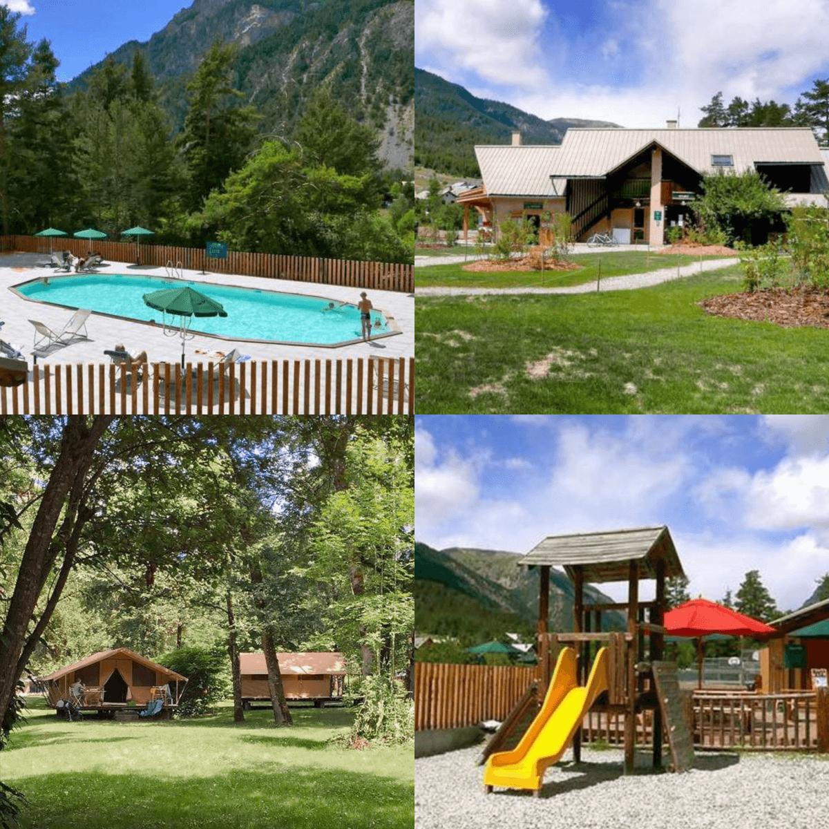 101 leuke idyllische campings in Frankrijk met kids #leukmetkids Camping Huttopia La Clarée, Val-des-Prés, bij Briançon, Provence-Alpes-Côte d'Azur