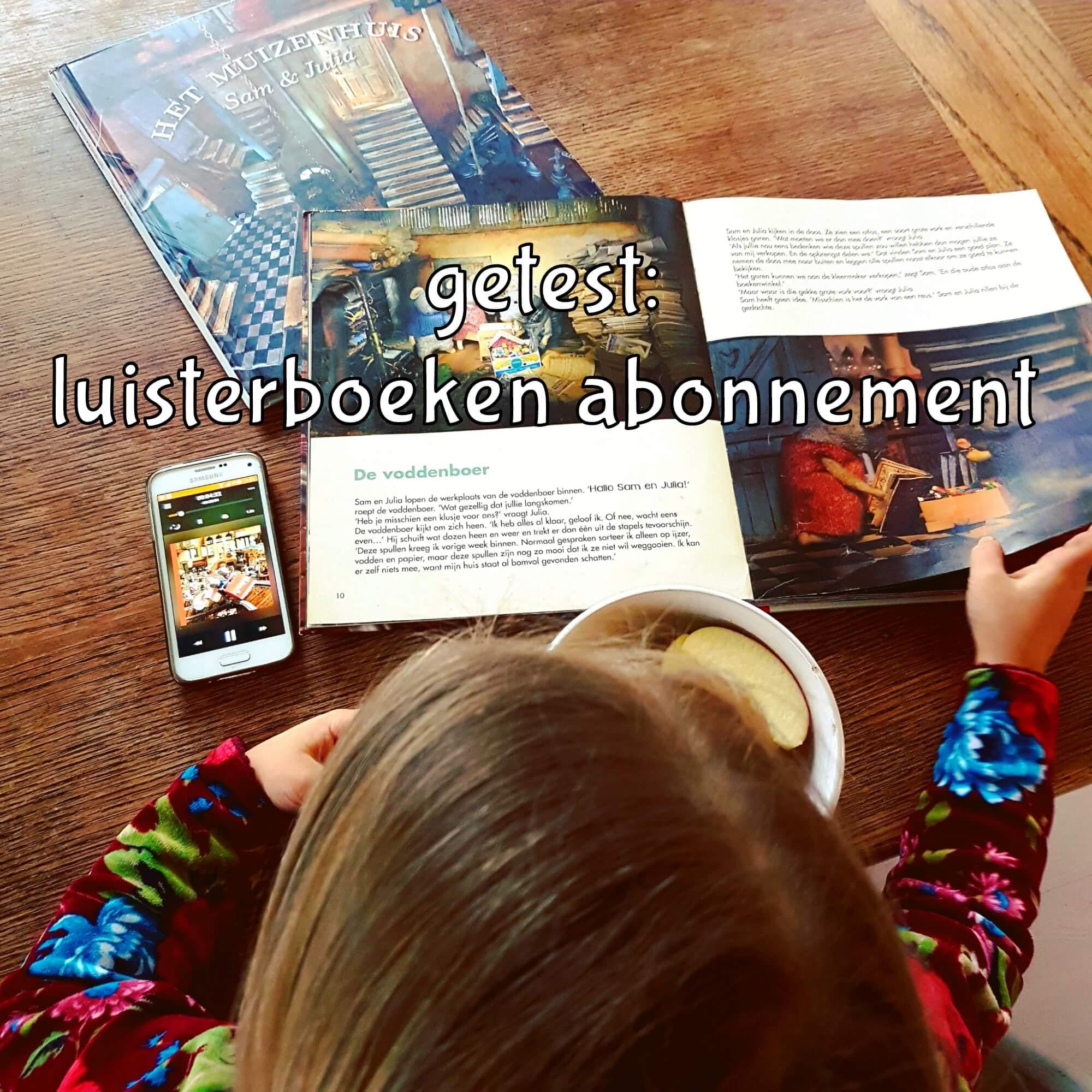 Getest voor het hele gezin: een luisterboeken abonnement