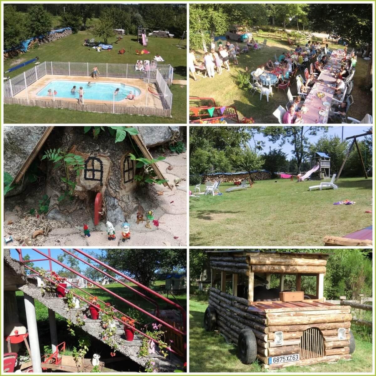 101 leuke idyllische campings in Frankrijk met kids - Domaine Le Sauzet, Saint-Germain-l'Herm, Puy-de-Dôme, Auvergne,