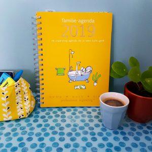 Organizing tip: handige familie-agenda