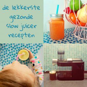 Waarom ik een slowjuicer zo fijn vind + onze favoriete recepten voor ouders en kids