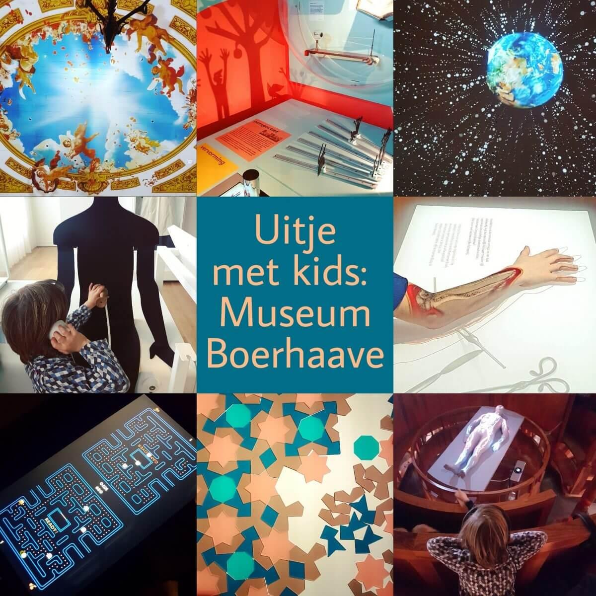 Uitje met kids: wetenschapsmuseum Boerhaave, met veel experimenten en spelletjes