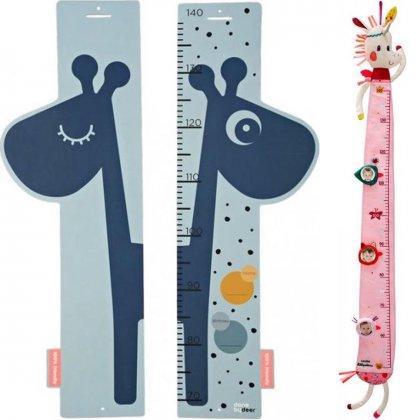 Leukste kraamcadeau: 101 cadeau ideeën voor de geboorte van een baby - groeimeter van Done by deer en Lilliputiens
