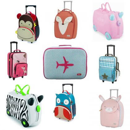Verjaardagscadeau voor kids: leuke cadeau tips - rolkoffers Lassig, Samsonite, Trunki, Skip hop, Bakker Made With Love