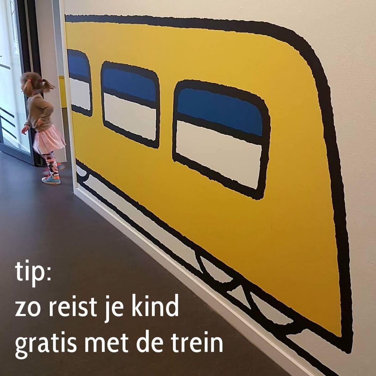 Tip: zo reist je kind gratis met de trein