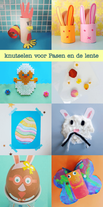 Knutselen voor Pasen en de lente: de leukste ideeën