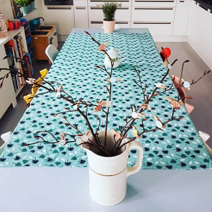 Paasdecoratie: ideeen om het huis voor Pasen te versieren met kinderen