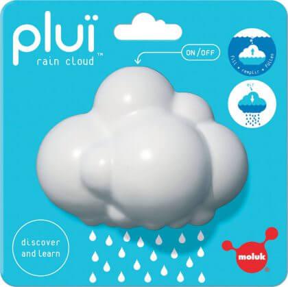 Deze regenwolk Moluk Pluï bij is ook erg leuk voor kleine waterratten, in bad of het zwembadje.