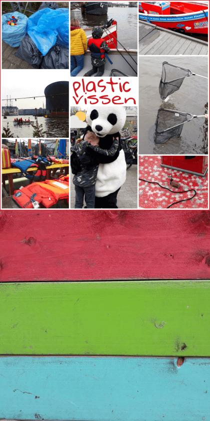 Uitje met kids: Plastic vissen in de Amsterdamse grachten met het WNF en Plastic Whale