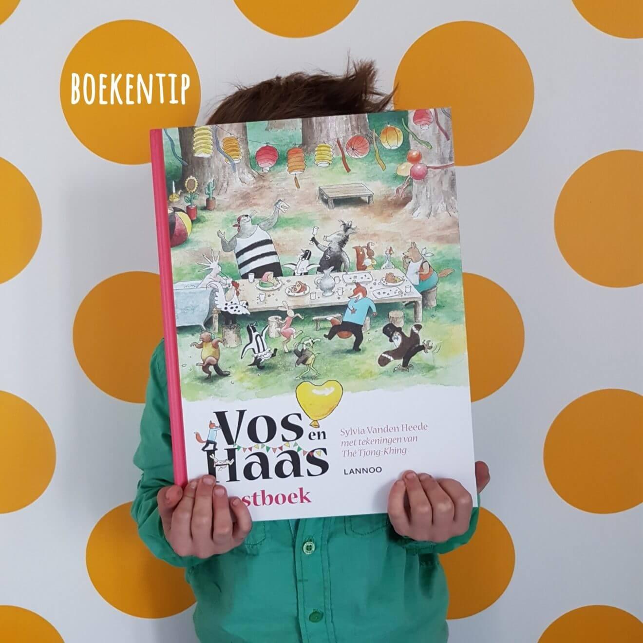 Boekentip voor jonge lezers: het feestboek van Vos en Haas