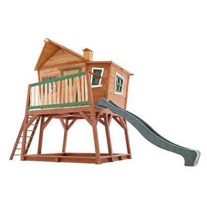 Voor jou gespot: het leukste buitenspeelgoed voor deze zomer - axi speelhuisje