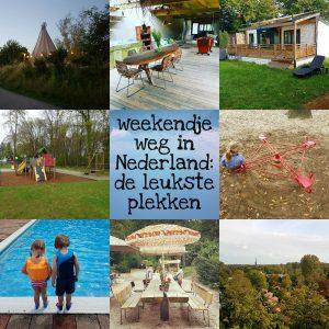 Weekendje weg in Nederland: de leukste vakantiehuisjes met kinderen