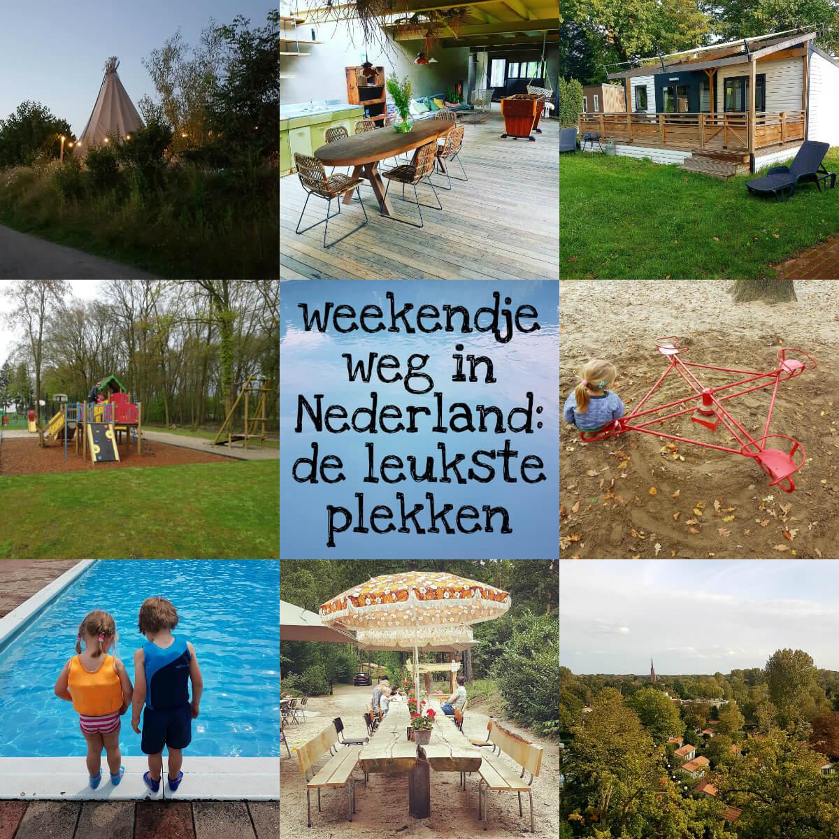 Weekendje weg in Nederland: de leukste plekken en vakantiehuisjes met kinderen
