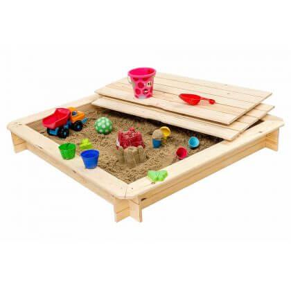 Cadeau ideeën voor kinderen die graag bouwen: zandbak