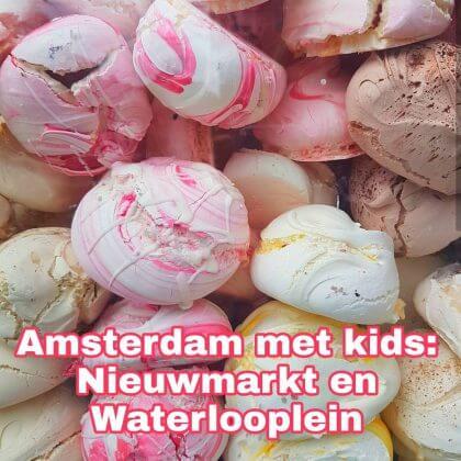 Amsterdam met kids, Nieuwmarkt en Waterlooplein: musea, speeltuinen, parken, zwemplekken, actieve uitjes, kinderboerderijen, winkels, restaurants en nog veel meer