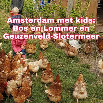 Amsterdam met kids, Bos en Lommer, Geuzenveld-Slotermeer en Westpoort: musea, speeltuinen, parken, zwemplekken, actieve uitjes, kinderboerderijen, winkels, restaurants en nog veel meer