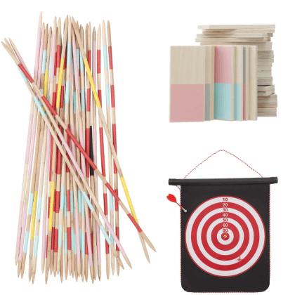 Voor jou gespot: het leukste buitenspeelgoed voor deze zomer - Hema mikado, domino, dart