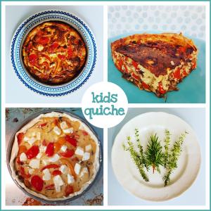 Recept: gezonde groenten-quiche voor kids