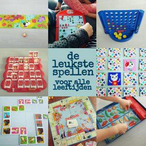 De leukste (bord)spelletjes voor peuters, kleuters en oudere kinderen